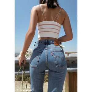 Levi's Wedgie Icon Fit High-Rise Jean in Turn To Stone Size 26